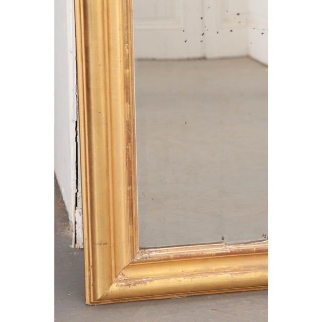 Late 19th Century French 19th Century Giltwood Louis Philippe Mirror For Sale - Image 5 of 9