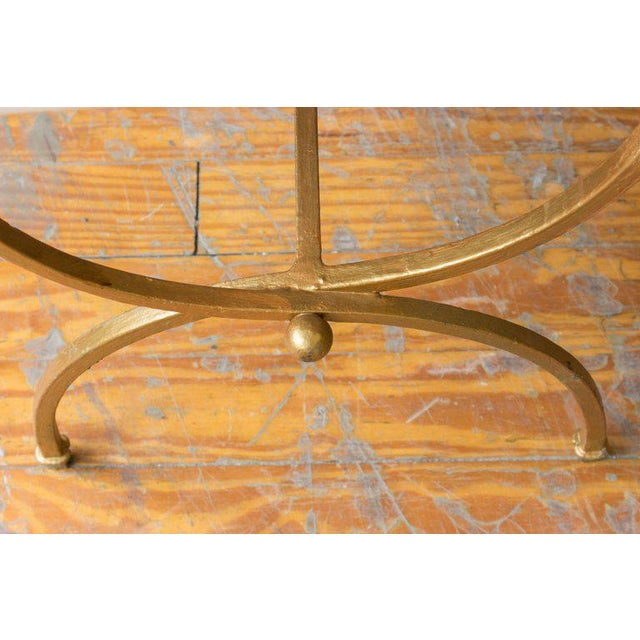 Gilt Iron Bench - Image 4 of 8