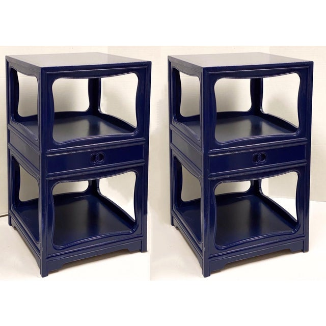 Pair of Michael Taylor for Baker Furniture Side Tables For Sale In Atlanta - Image 6 of 8