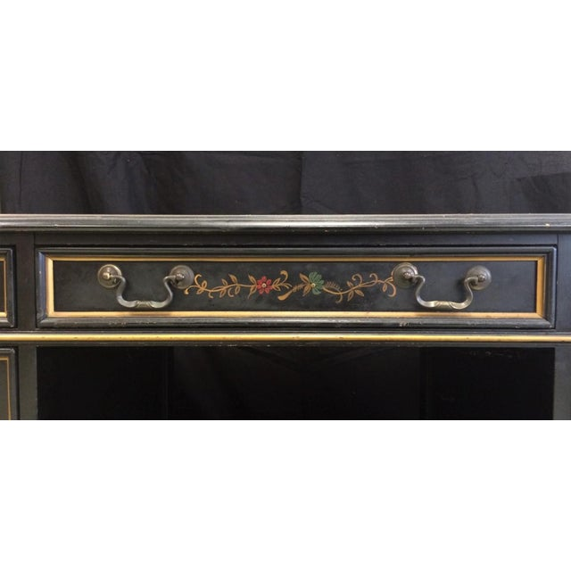 """""""Chinoiserie Kneehole Parsons Sligh-Lowry Desk"""" For Sale In New York - Image 6 of 11"""