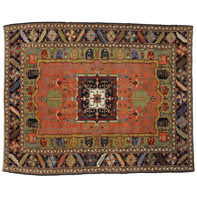 "Contemporary Persian Heriz Rug - 15' x 18'10"" - Image 9 of 9"