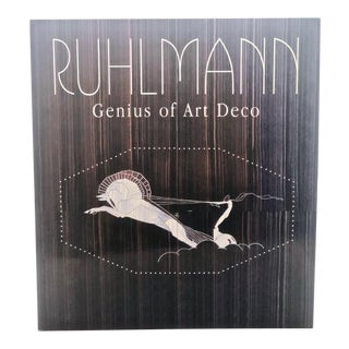"""Ruhlmann: Genius of Art Deco"" Coffee Table Book For Sale"