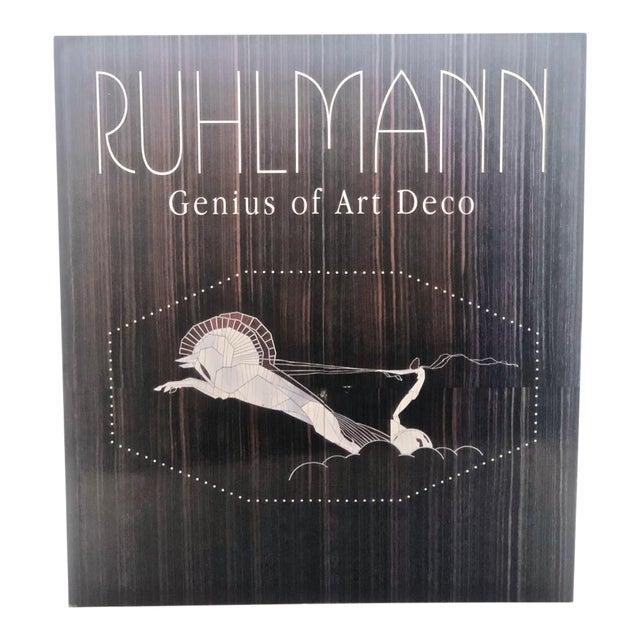 """Ruhlmann: Genius of Art Deco"" Coffee Table Book For Sale"