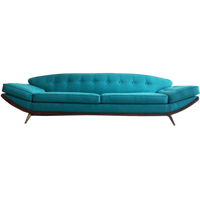 Adrian Pearsall Oval Gondola Sofa - Image 1 of 4