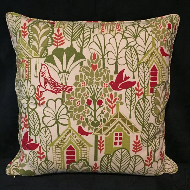 Swedish House Accent Feather Pillows - Image 4 of 6