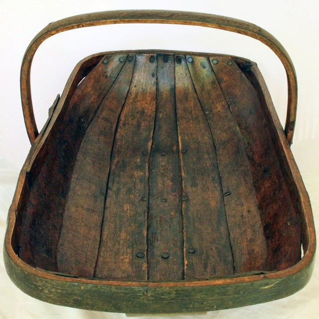 Early 20th Century Antique Garden Trug For Sale - Image 4 of 6