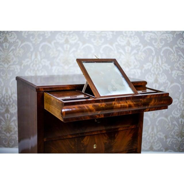 1860s Biedermeier Dresser-Vanity Table For Sale - Image 9 of 13
