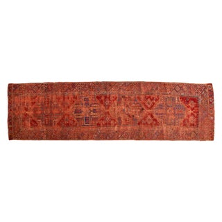 "Antique Anatolian Rug Runner - 4' x 13'3"" For Sale"