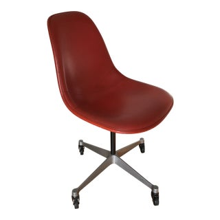 1950s Mid-Century Modern Charles Eames for Herman Miller Swivel Chair For Sale