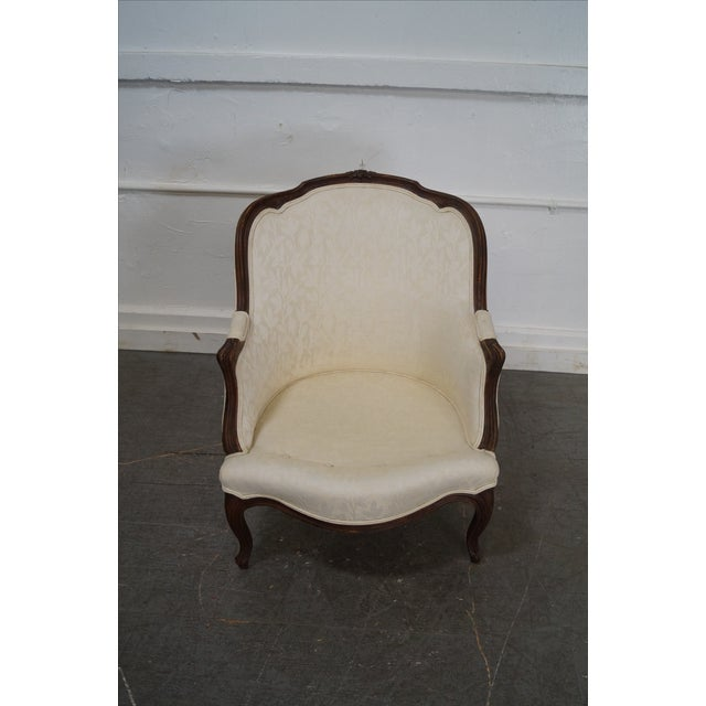 Antique French Louis XV Style Bergere Chairs - Pair - Image 10 of 10