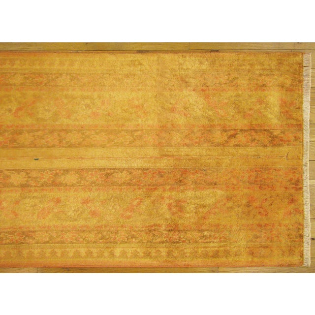Traditional Early 20th Century Antique Indian Agra Rug - 5′ × 2′1″ For Sale - Image 3 of 5