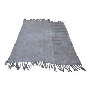 "Handmade Floor Turkish Hemp Rug - 60"" x 82"" For Sale"