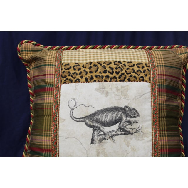 Traditional Late 20th C. Unusual Custom Pillow For Sale - Image 3 of 7