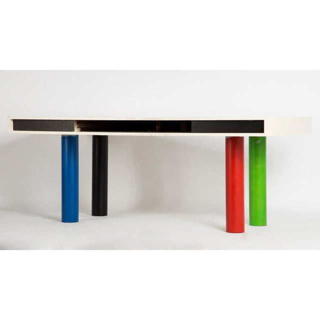 Modern 1950s Pop Art/Modern Desk For Sale - Image 3 of 12