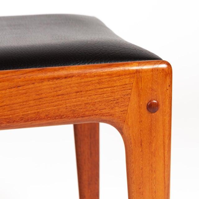 Brown Johannes Andersen Uldum Møbelfabrik Danish Teak Dining Chairs — Set of Four For Sale - Image 8 of 12