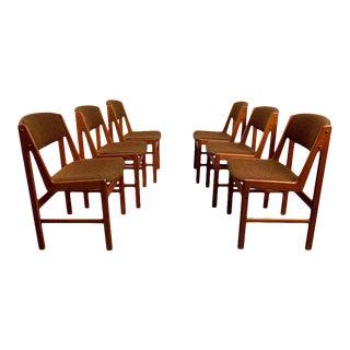 Danish Modern Dining Chairs by Artfurn, Denmark For Sale