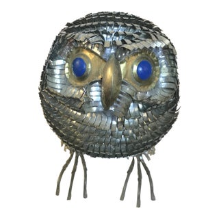 1960's Sergio Bustamante Owl Figurine For Sale