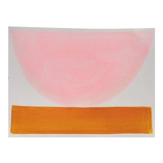 """2010s Abstract Original Painting, """"Turkish Delight Bowl"""" by Jenny Andrews Anderson"""