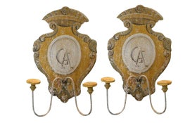 Image of Goldenrod Candle Holders