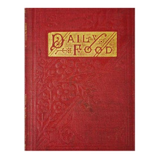 1800's Daily Food for Christians Daily Devotional Book For Sale