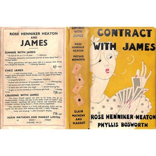 Contract with James For Sale