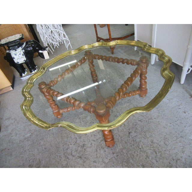 Baker Pie Crust Tray Top Coffee Table - Image 6 of 11