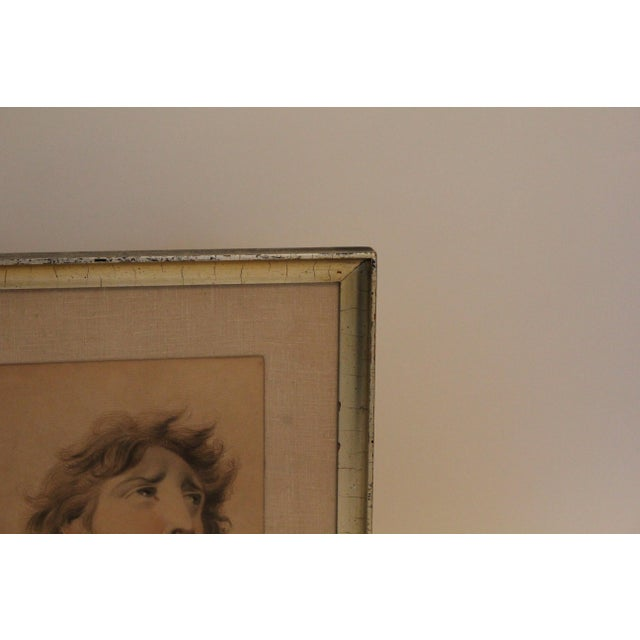 Late 18th Century English Classical After Lawrence Portraits Paintings - Set of 2 For Sale - Image 5 of 6