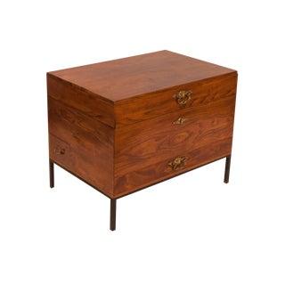 Georgian Chestnut Silver Canteen Box
