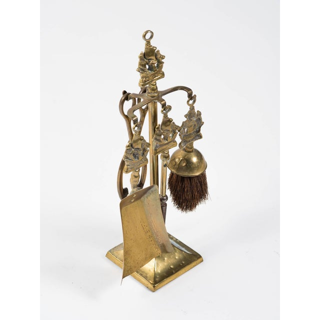 English Tabletop Nautical Fireplace Tool Set For Sale In New York - Image 6 of 8