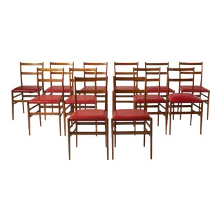 Leggera Dining Chairs by Gio Ponti for Cassina - a Pair For Sale
