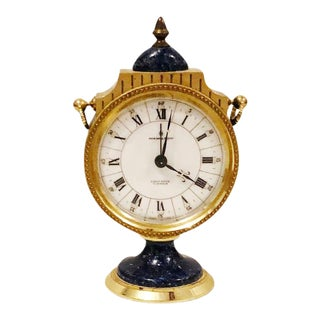 Vintage Hamilton Eight Day 7 Jewel Swiss Made Alarm Clock For Sale