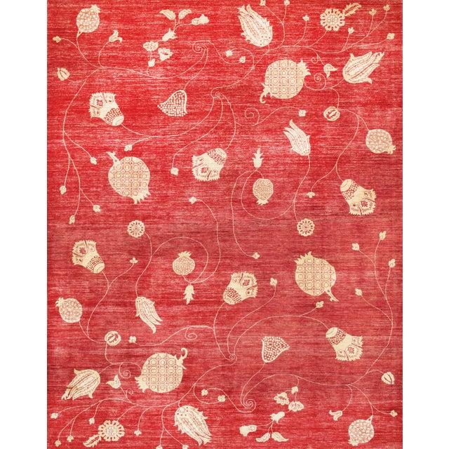 "Pasargad Modern Lamb's Wool Rug - 9'1"" x 11'5"" - Image 1 of 2"