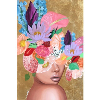 """Exotica"" Original Artwork by Sally K For Sale"