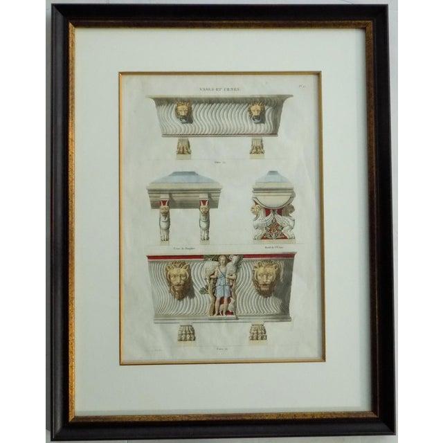 Italian Mid 18th Century Antique Bouillion Italian Vases Print For Sale - Image 3 of 10
