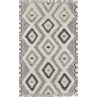 Novogratz by Momeni Indio Sierra in Black Rug - 5'X7' For Sale