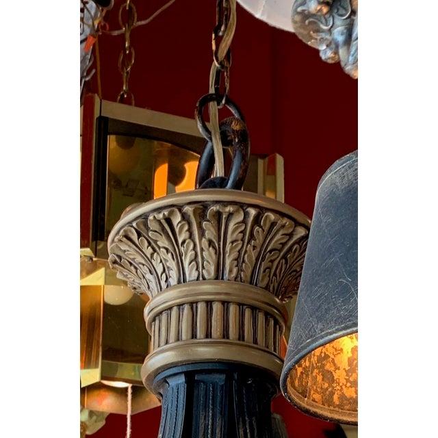 Fine Art Lighting Chandelier Bronze & Gold 5 Lights For Sale - Image 10 of 13