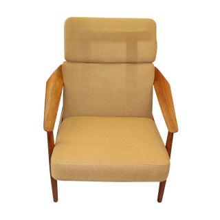 1950s Arne Vodder Danish Model 164 Lounge Chair For Sale