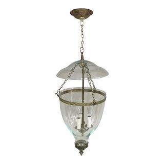 Brass Vaughan Adam Hall Globe Lantern For Sale