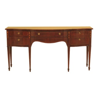 Karges Inlaid Federal Mahogany Sideboard For Sale