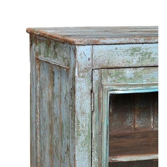 Vintage Painted Display Cabinet - Image 2 of 2