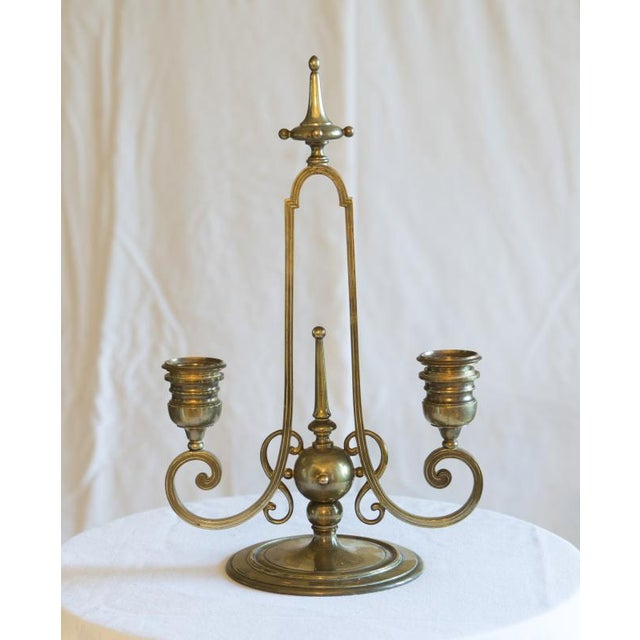 F. Barbedienne Foundry 20th Century Vintage Barbedienne Candelabra For Sale - Image 4 of 4