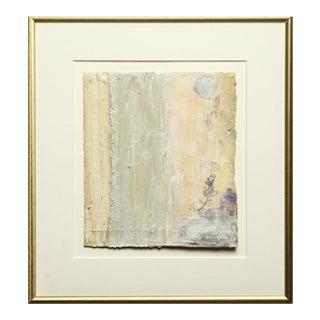 Bernd Haussmann Modern Abstract Mixed-Media on Paper For Sale