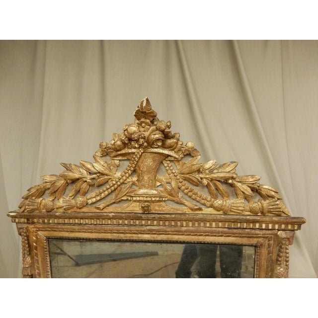 18th C. French Directoire Mirror For Sale - Image 4 of 8