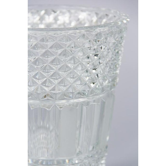 French Cut Crystal Champagne Bucket, 20th Century - Image 9 of 11