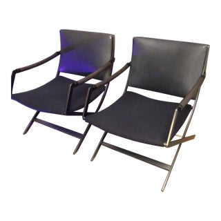 Paul Tuttle Collection Chairs by Antonio Citterio for FlexForm Italia - a Pair For Sale