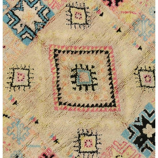 Textile Vintage Berber Moroccan Rug With Bohemian Postmodern, 5'9 X 11'7 For Sale - Image 7 of 10