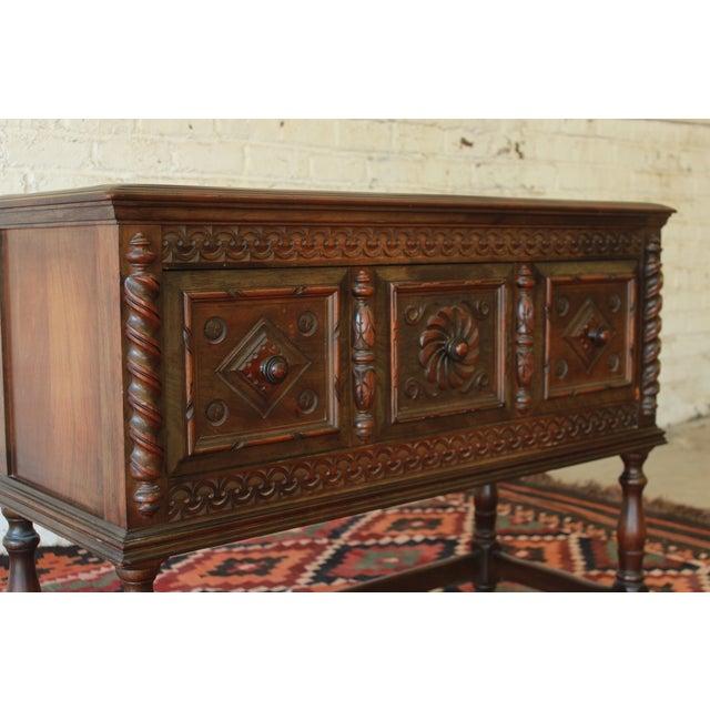 Limbert Furniture Co. Elizabethan-Style Sideboard - Image 5 of 9