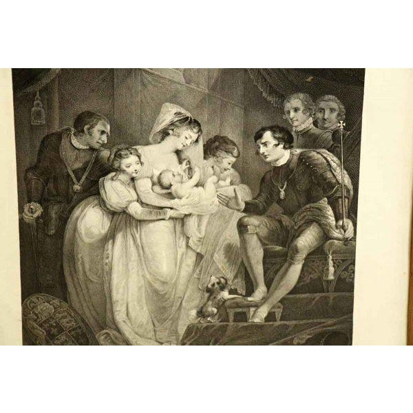 Gothic Vintage Shakespeare Print For Sale - Image 3 of 7