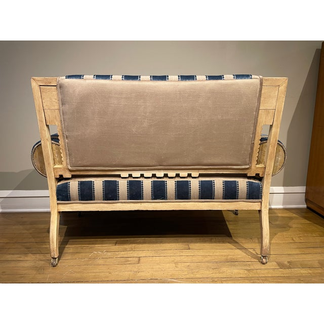 19th Century Vintage Victorian Settee For Sale - Image 4 of 8