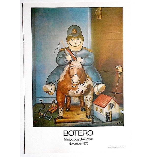 Vintage Poster Lithograph by Fernando Botero - Image 2 of 3